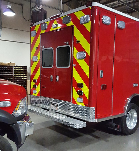 DSY Rescue 2016 Dodge Ram Braun (rear)