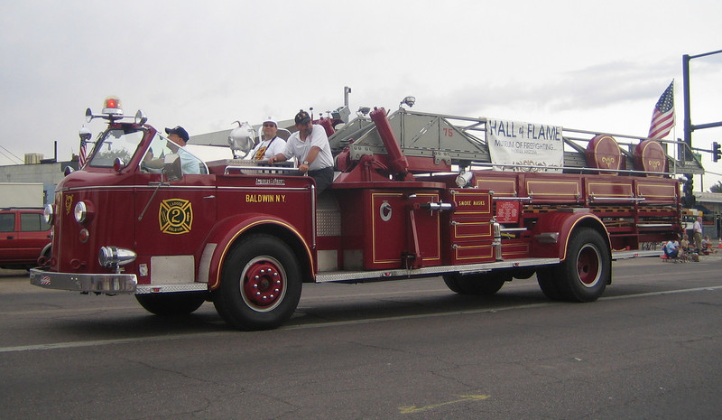 Hall of Flame ex-Baldwin, NY L2 ALF 75ft mma