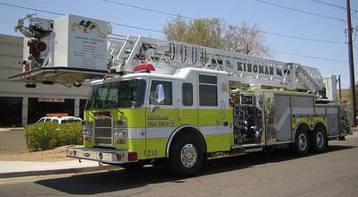 Kingman L1 Pierce Dash 100ft tower quint