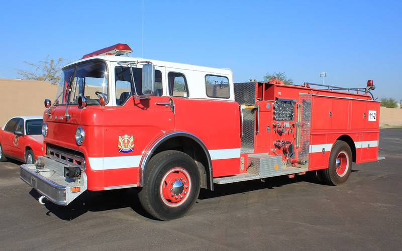 Paradise Valley Phoenix College E1 1975 Ford Howe 1000gpm