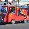 Pint fire truck