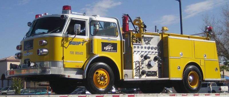 Swift Trucking Engine American Lafrance