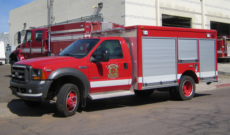 Morenci 2007 Ford F550 Pierce Contender