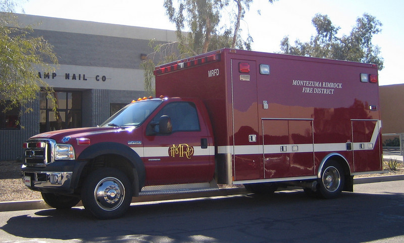 Montezuma Rimrock 2007 Ford F450 MedTec