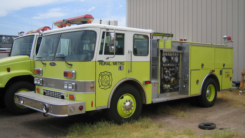 RMFD Reserve Engine 1988 Pierce Dash