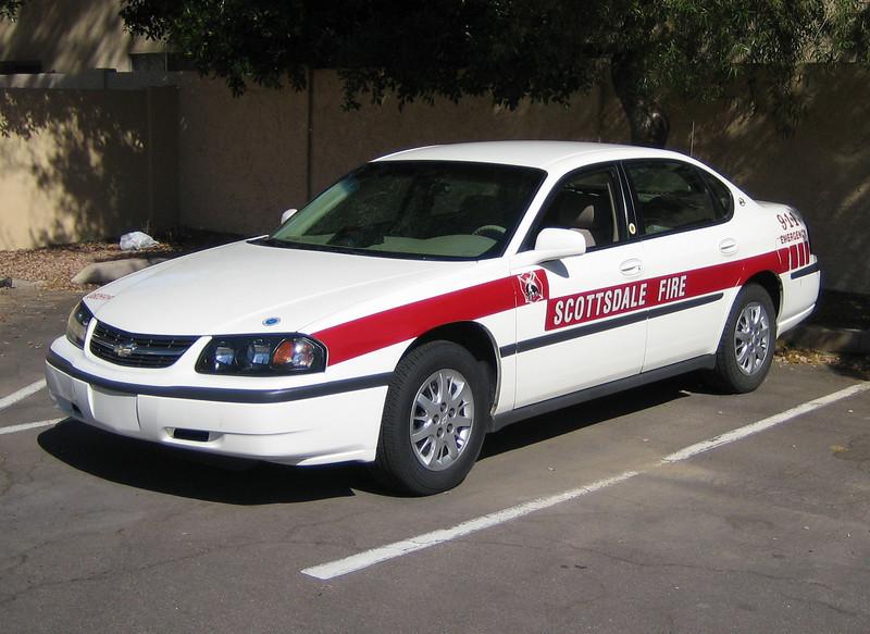 SCT Staff Car Chevy Impala