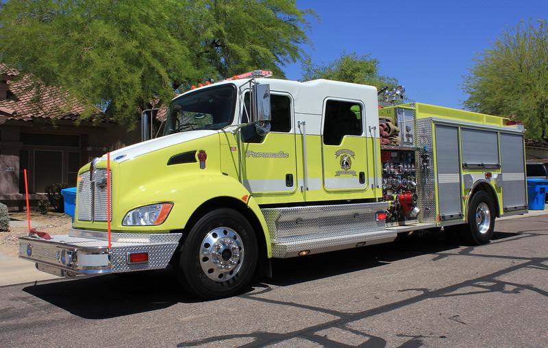 Reserve Engine 2008 Kenworth T370 Pierce Contender 1500gpm 470gwt 30gft CAFS