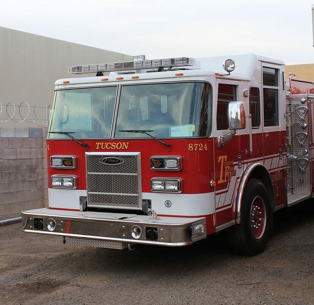 Tucson E1 2011 Pierce #8724