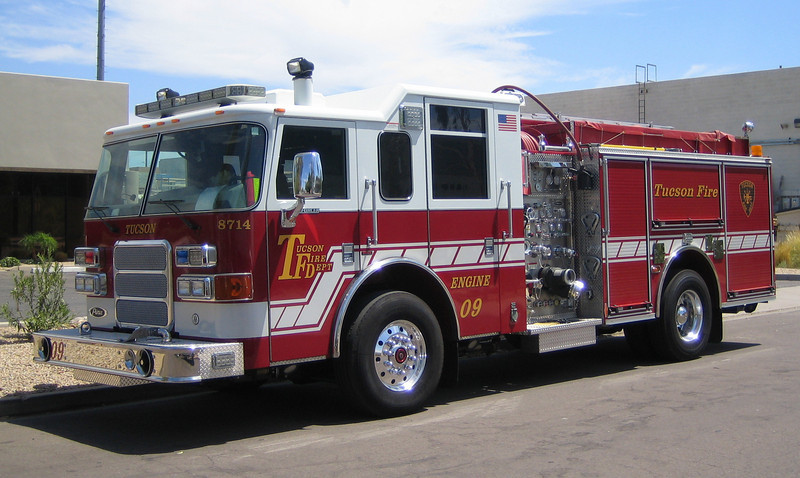 Tucson E9 2007 Pierce Enforcer 1250gpm 750gwt 30gft #8714