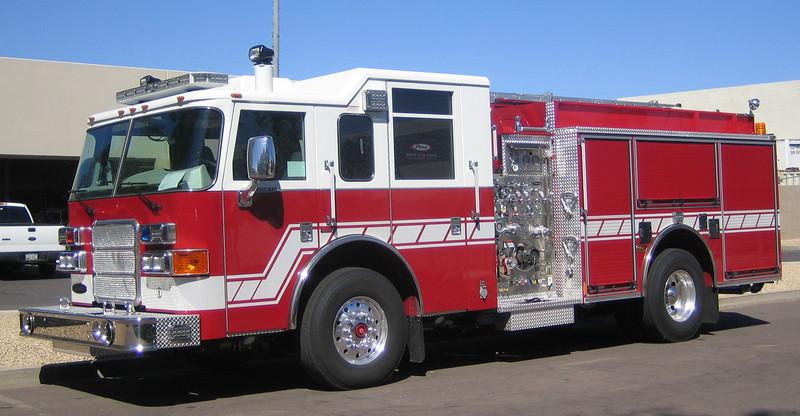 Tucson E2 2007 Pierce Enforcer