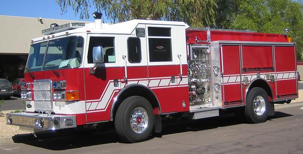 Tucson E1 2007 Pierce Enforcer 1250gpm 750gwt
