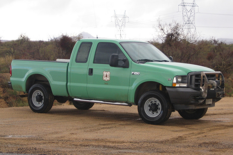 US Forestry Tonto Ford F250 #5402 (ps)