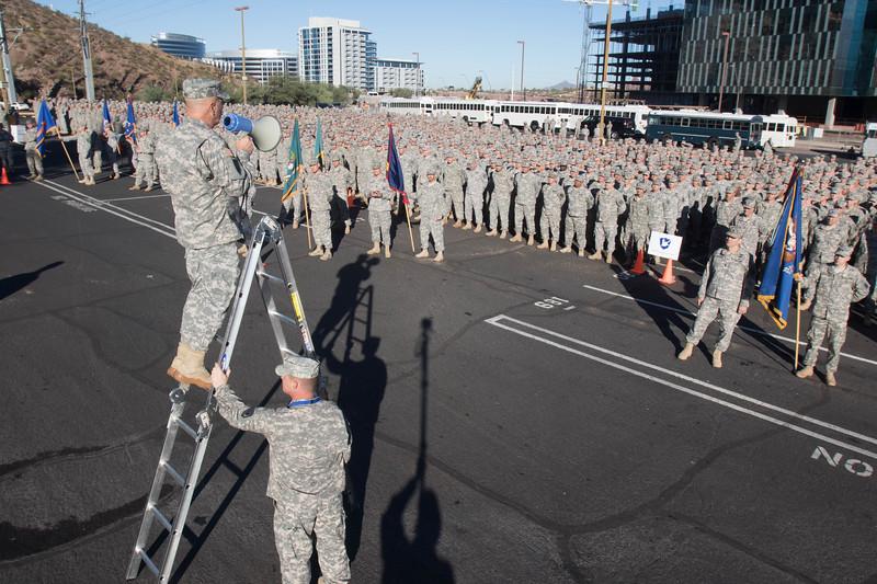 Arizona National Guard Muster