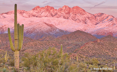 A Snow Capped Four Peaks