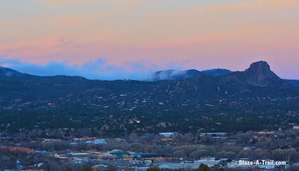 Granite Mountain Hike, Prescott (February 2011)
