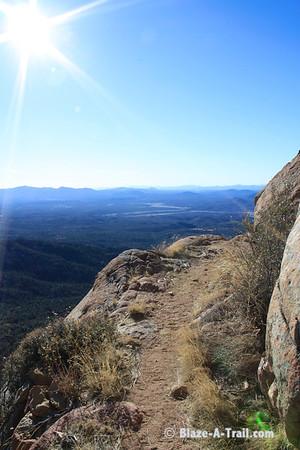 The path less travelled....<br /> <br /> Granite Mountain Hike, Prescott (February 2011)