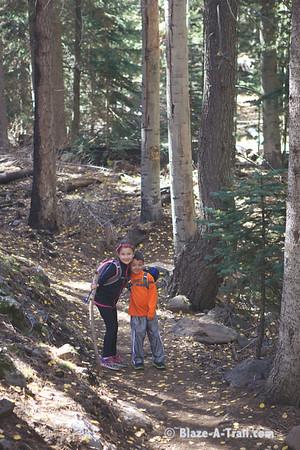 Inner Basin Hike near Lockett Meadow on the San Francisco Peaks (October, 2012)