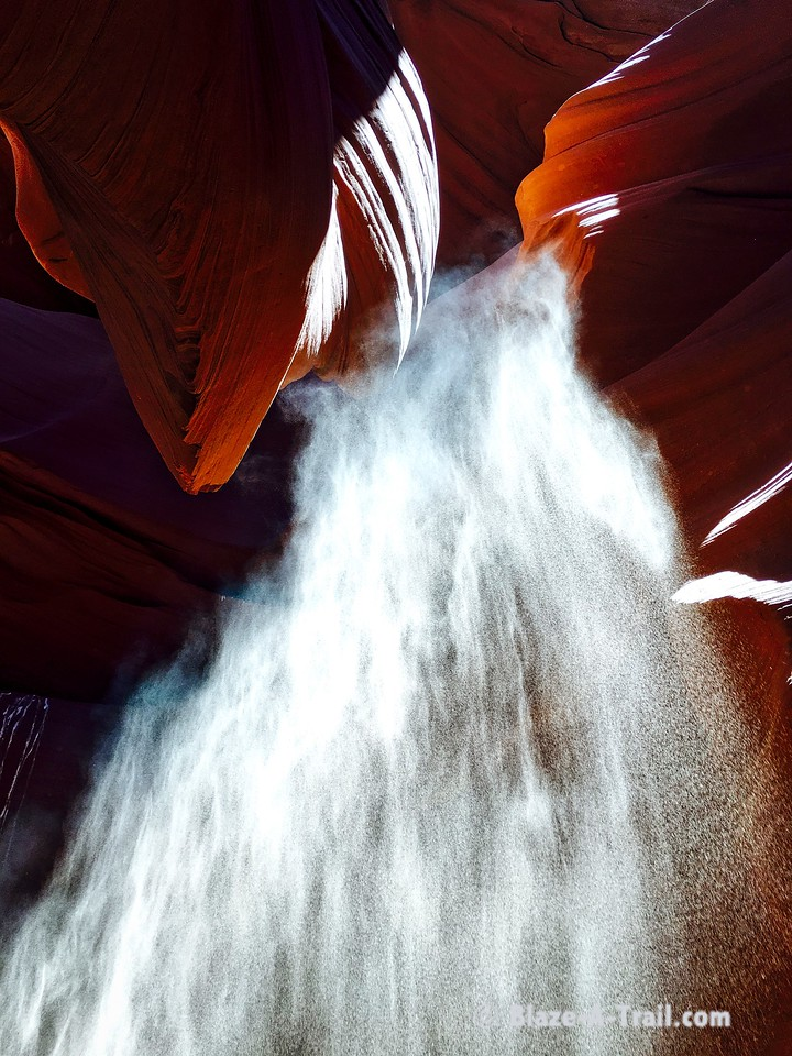 """Lower Antelope Canyon (March 2016) - Dragon's Breath   For more information, see blog post:  <a href=""""http://blaze-a-trail.blogspot.com/2016/05/antelope-canyon-famous-slot-canyon-of.html"""">http://blaze-a-trail.blogspot.com/2016/05/antelope-canyon-famous-slot-canyon-of.html</a>"""