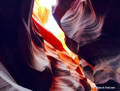 Lower Antelope Canyon (March 2016)   For more information, see blog post:  http://blaze-a-trail.blogspot.com/2016/05/antelope-canyon-famous-slot-canyon-of.html