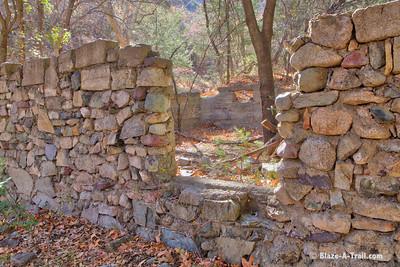 Miller Canyon Trail in the Huachuca Mountains near Sierra Vista
