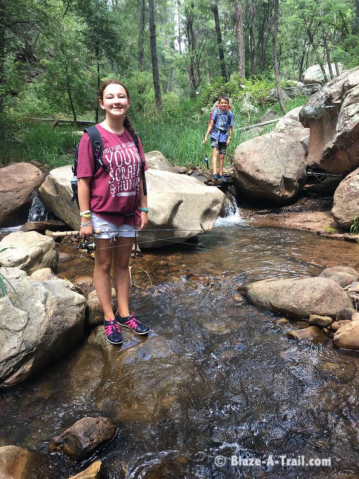Tonto Creek Waterfall Hiking Adventure