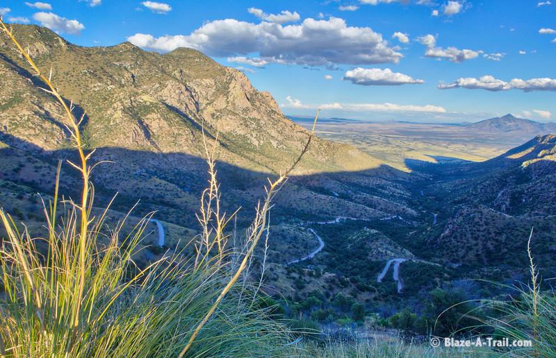 Montezuma Canyon Road to Coronado National Memorial, Huachuca Mountains