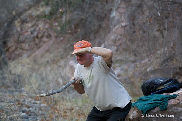 The Great Coatimundi hunter...<br /> <br /> Muleshoe Ranch/Hooker Hot Springs (Willcox, AZ)