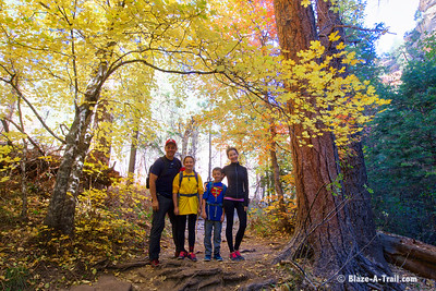 Fall Colors Hike along West Fork Trail