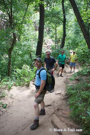 "West Fork Trail (Sedona, AZ) - ""THRIVE - An Adventure For Men"" Retreat --  <a href=""http://www.anadventureformen.com"">http://www.anadventureformen.com</a>"