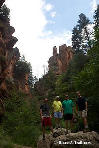 "West Fork Trail (Sedona, AZ) - ""THRIVE - An Adventure For Men"" Retreat -- www.anadventureformen.com"