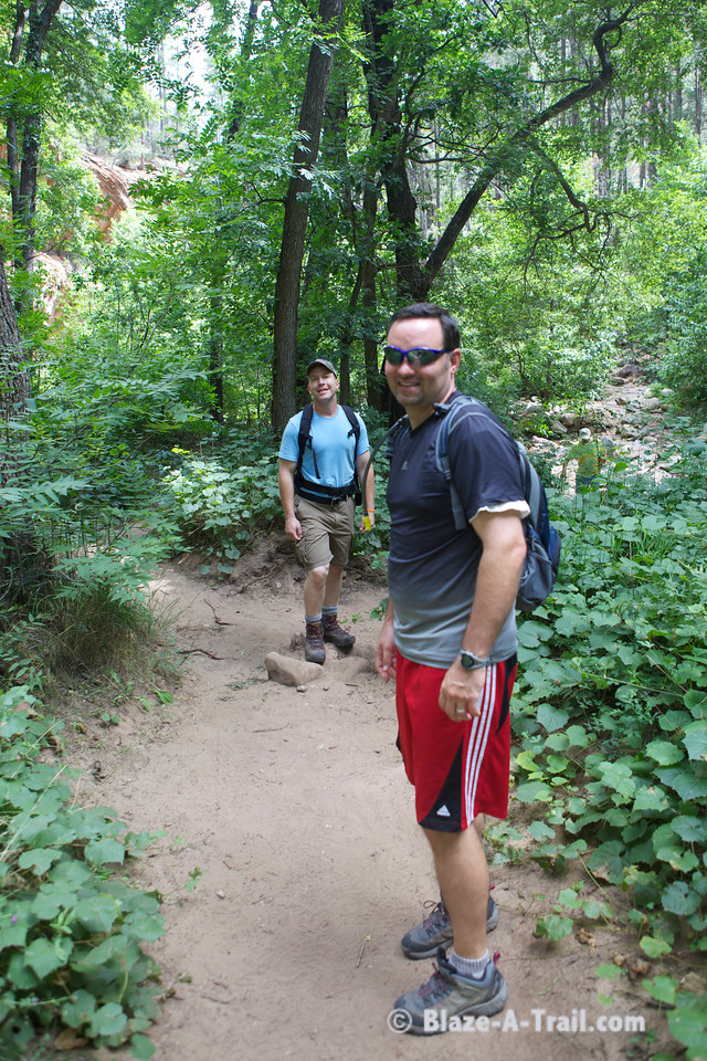 "West Fork Trail (Sedona, AZ) - ""THRIVE - An Adventure For Men"" Retreat --  <a href=""http://www.anadventureformen.com"">http://www.anadventureformen.com</a>"