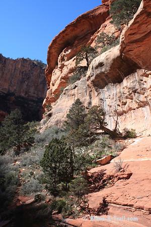 """Fay Canyon Hike, Sedona (February 2011) <a href=""""http://Blaze-A-Trail.blogspot.com/2011/05/sedona-hikes.html"""">http://Blaze-A-Trail.blogspot.com/2011/05/sedona-hikes.html</a>"""