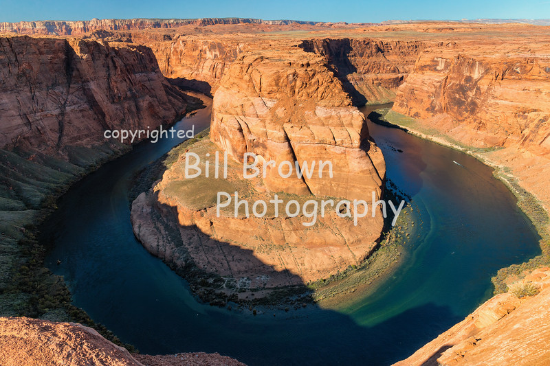 Horseshoe Bend on the Colorado River South of Page