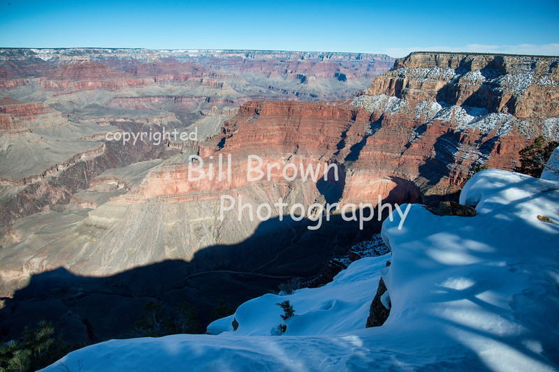 Grand Canyon with Snow