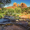 Cathedral Rock Above Red Rock Crossing, Sedona
