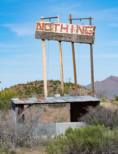 """The """"town"""" of Nothing, Arizona"""