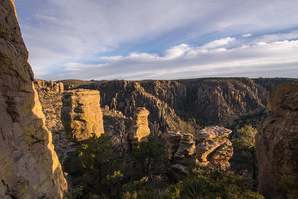 Chiricahua National Monument - Sugarloaf Mountain and  Massai Point
