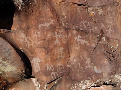 Nampaweap Petroglyph Site 10.15.12