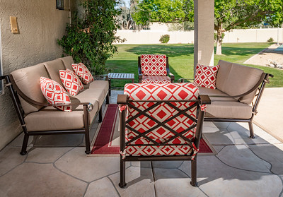 AZ Iron Patio Furniture Products, Barnhill Collection