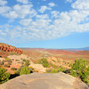 Arches National Park landscape, beautiful mountains,