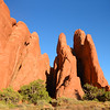 Arches National Park landscape.
