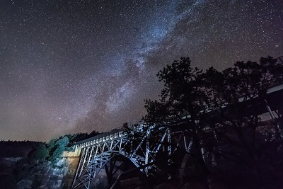 Midgley Bridge Milky Way