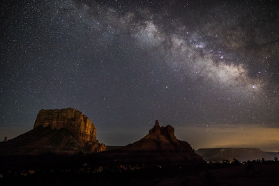 Milky Way Above the Red Rocks--20190705-2A4A4998
