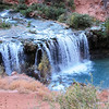 The first waterfall is called Navajo Falls.