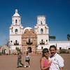 San Xavier Mission in Tucson