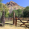 This corral and loading shute is at the historic Faraway Ranch in the Chiricahua Mountains, now part of Chiricahua National Monument.