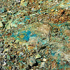 This is a closer look at the copper ore laying around from old mining operations in Helvetia.