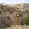 "This is the ""Adobe Monolith"", which Fred identified as an ""Erosion Remnant"". . . .  Photo by Dick Jones.  See:  <a href=""http://www.fredsgang.com/Photos/20090626/P6260015.JPG"">http://www.fredsgang.com/Photos/20090626/P6260015.JPG</a>"