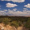 Looking across the San Rafael Valley, Arizona from the Patagonia Mountains near Mount Washington.