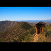 This brick outhouse on top of Red Mountain may have the best view of any outhouse in Arizona.